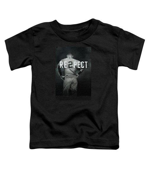 Baseball Toddler T-Shirt by Jewels Blake Hamrick