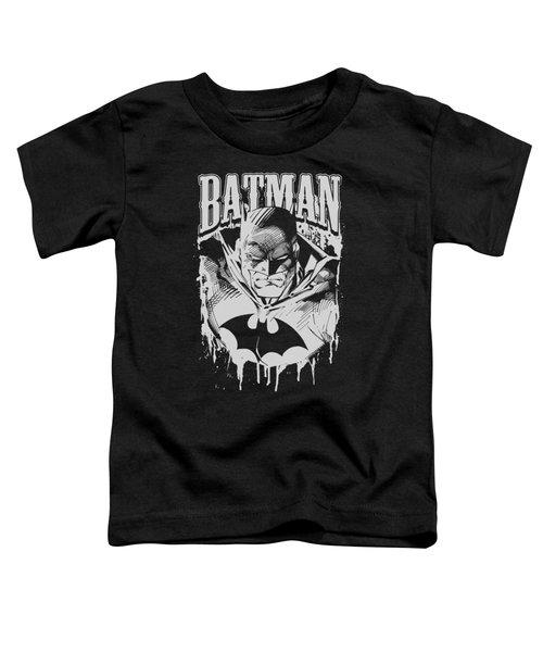 Batman - Bat Metal Toddler T-Shirt