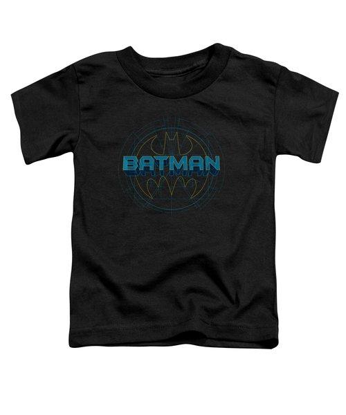 Batman - Bat Tech Logo Toddler T-Shirt