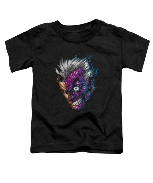 Batman - Just Face Toddler T-Shirt