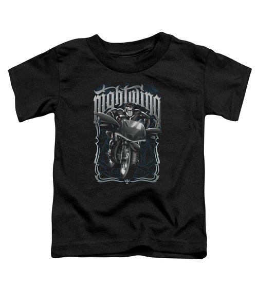 Batman - Nightwing Biker Toddler T-Shirt
