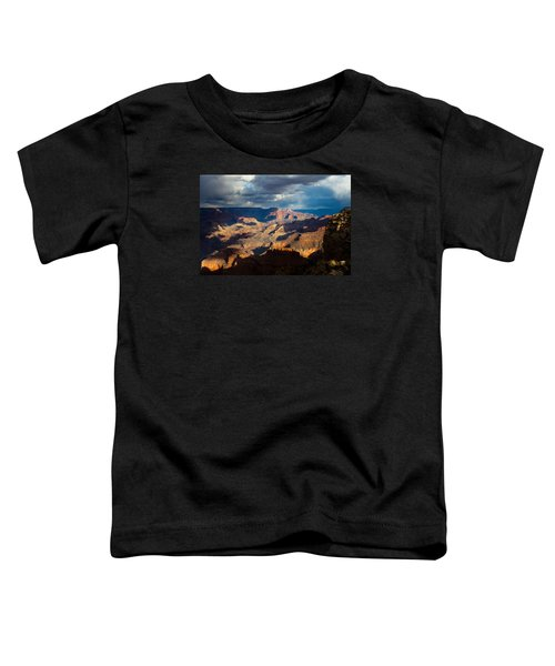 Battleship Rock In The Shadows Toddler T-Shirt