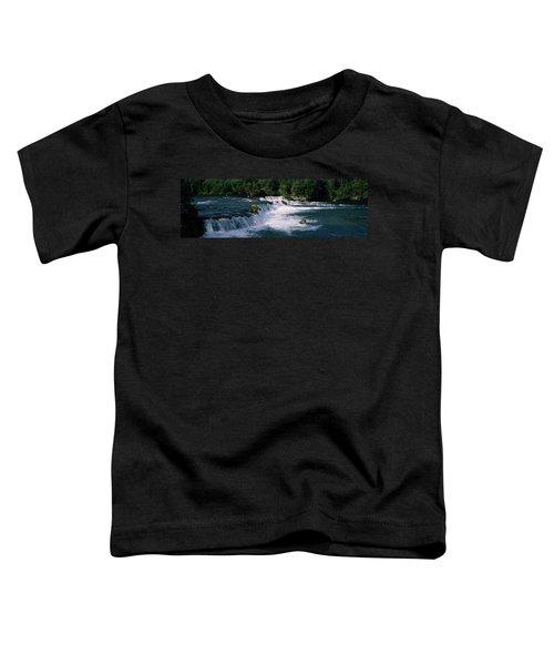 Bears Fish Brooks Fall Katmai Ak Toddler T-Shirt