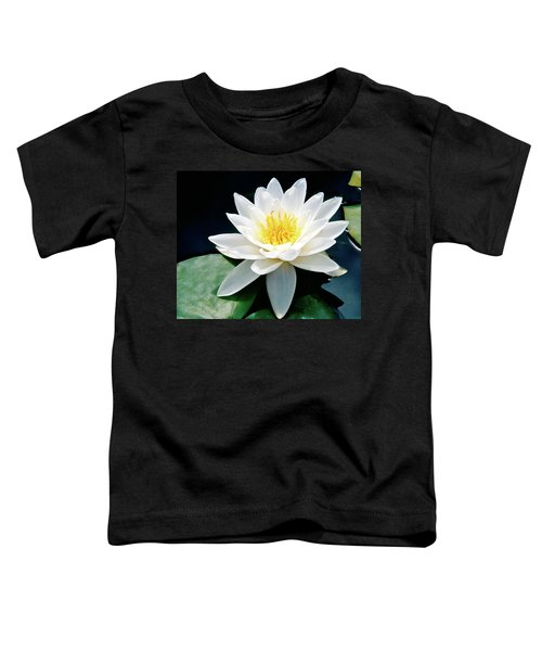 Beautiful Water Lily Capture Toddler T-Shirt