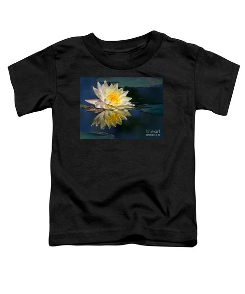 Beautiful Water Lily Reflection Toddler T-Shirt
