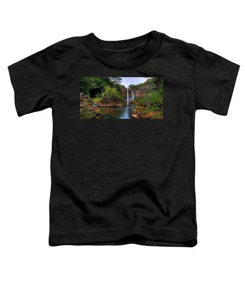 Below Wailua Falls Toddler T-Shirt