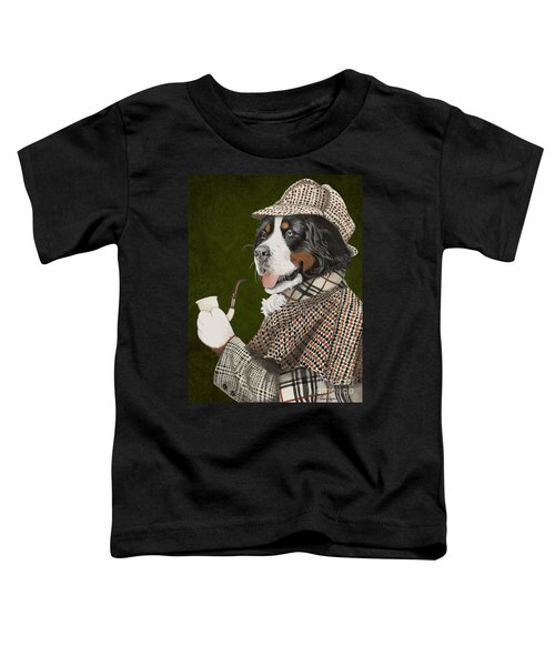 Berner Of The Baskerville Toddler T-Shirt