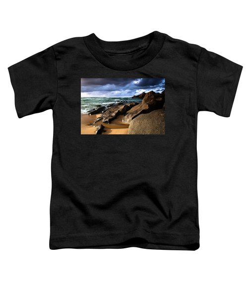 Between Rocks And Water Toddler T-Shirt