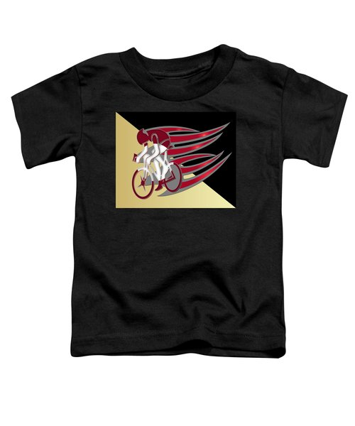 Bicycle Rider 01 Toddler T-Shirt