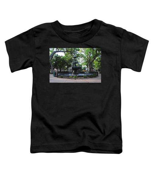 Bienville Fountain Mobile Alabama Toddler T-Shirt