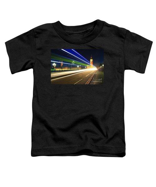 Big Ben And A Bus Toddler T-Shirt