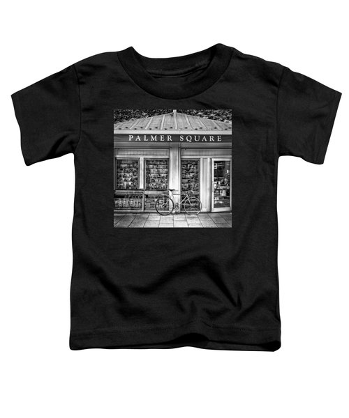 Bike At Palmer Square Book Store In Princeton Toddler T-Shirt