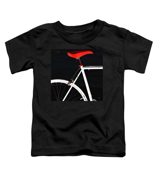 Bike In Black White And Red No 1 Toddler T-Shirt
