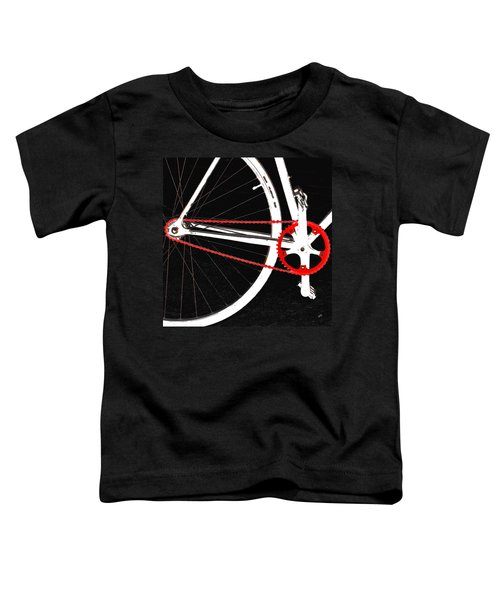 Bike In Black White And Red No 2 Toddler T-Shirt