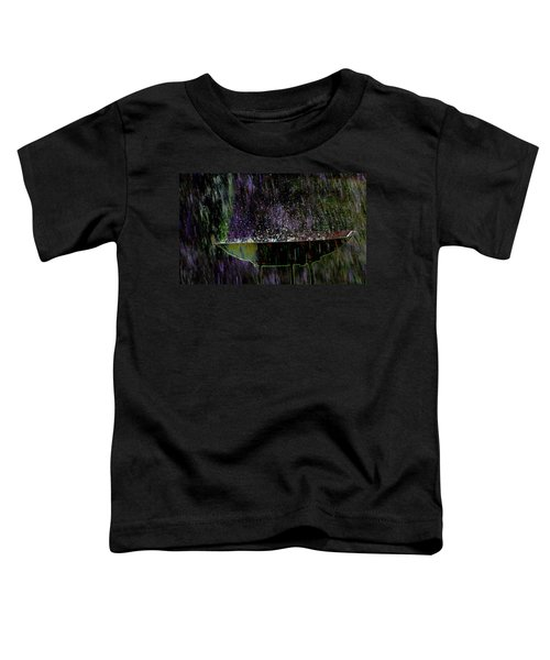 Bird Bath Explosion Toddler T-Shirt