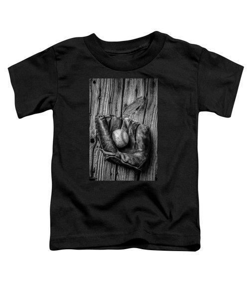 Black And White Mitt Toddler T-Shirt