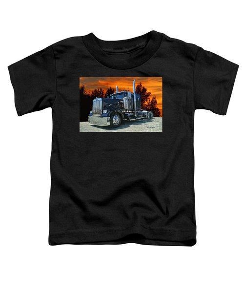 Black Kenworth Toddler T-Shirt