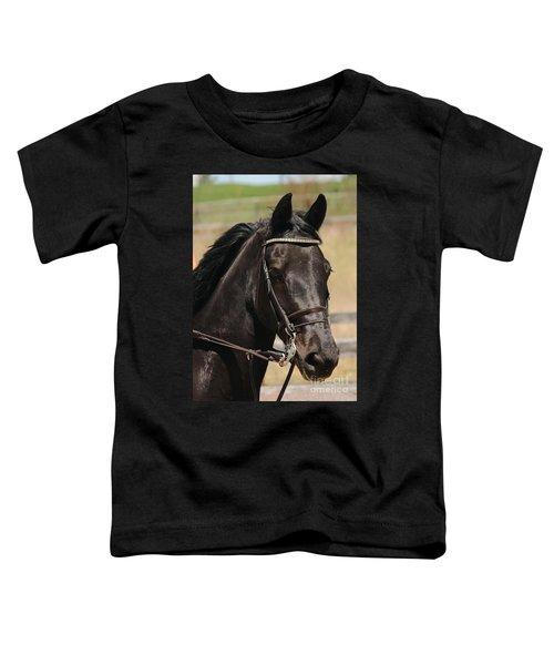 Black Mare Portrait Toddler T-Shirt