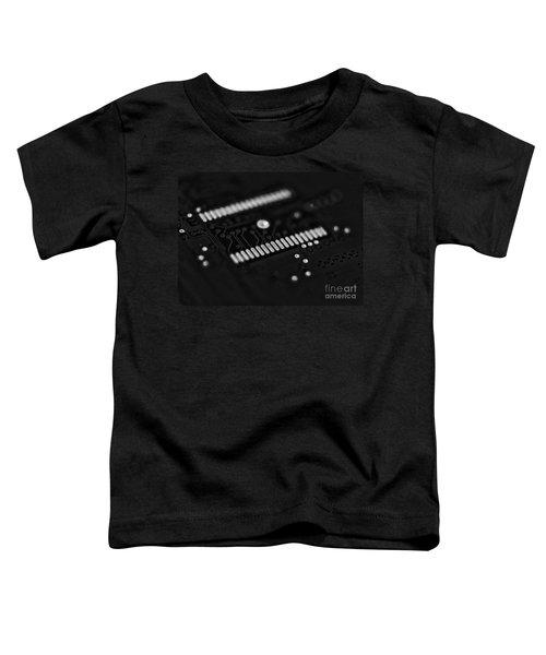 Blue Hard Drive Low Key Toddler T-Shirt