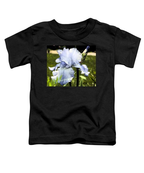 Blue Iris Toddler T-Shirt