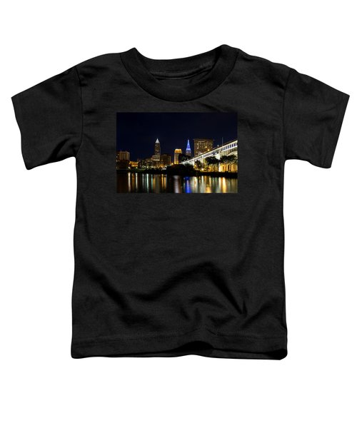 Blues In Cleveland Ohio Toddler T-Shirt