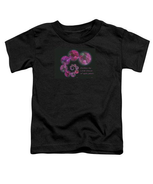 Blustery Day Haiga Toddler T-Shirt