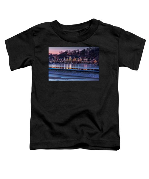 Boathouse Row Toddler T-Shirt