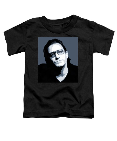 Bono Toddler T-Shirt by Dan Sproul