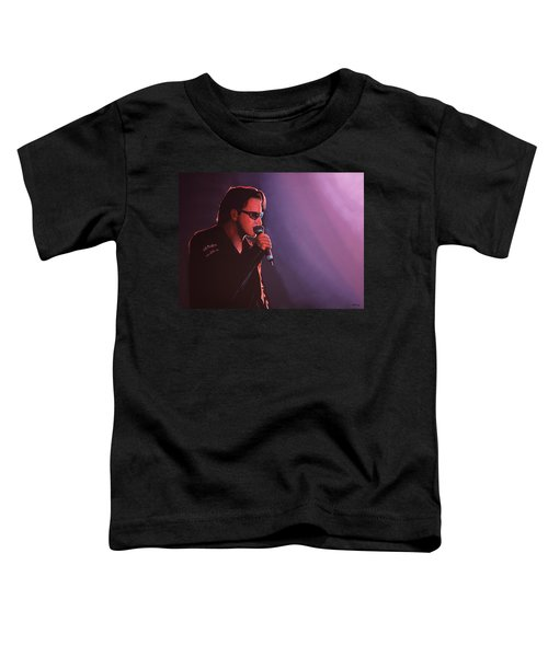 Bono U2 Toddler T-Shirt by Paul Meijering