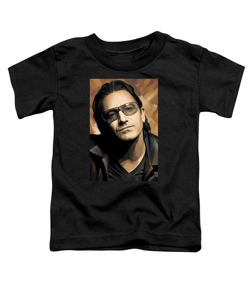 Bono U2 Artwork 2 Toddler T-Shirt