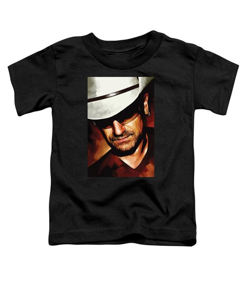 Bono U2 Artwork 3 Toddler T-Shirt