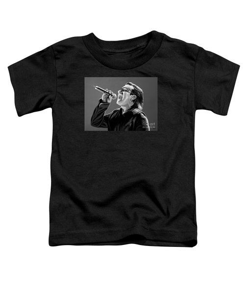 Bono U2 Toddler T-Shirt by Meijering Manupix