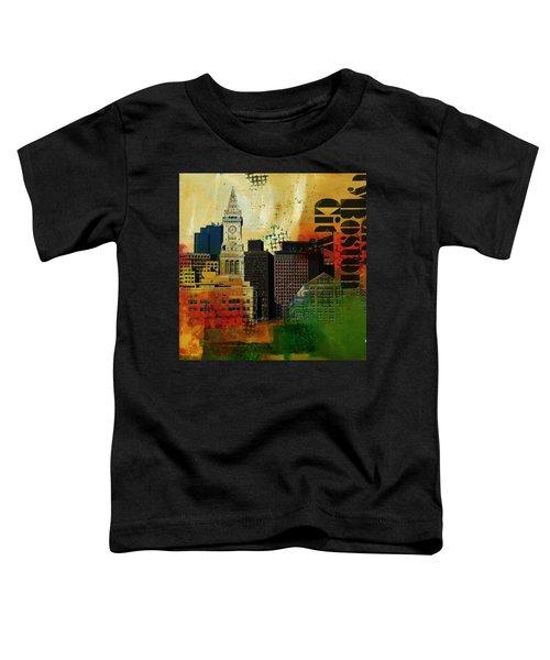 Boston City Collage 2 Toddler T-Shirt