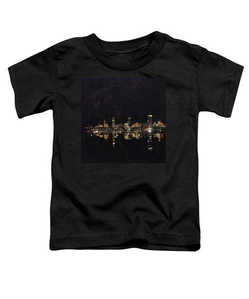 Boston City Skyline 2 Toddler T-Shirt