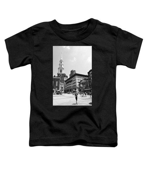 Boston Common Scene Toddler T-Shirt
