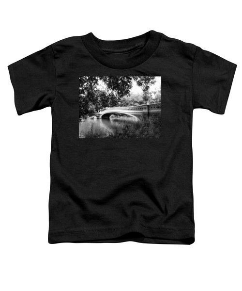 Bow Bridge In Black And White Toddler T-Shirt