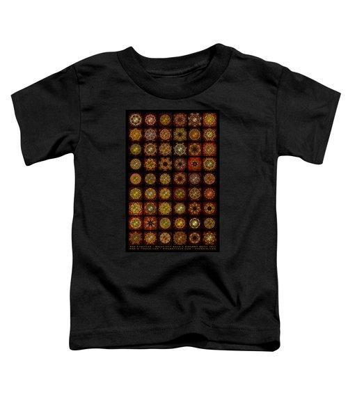 Breakfast Bagels Dingbat Quilt Toddler T-Shirt