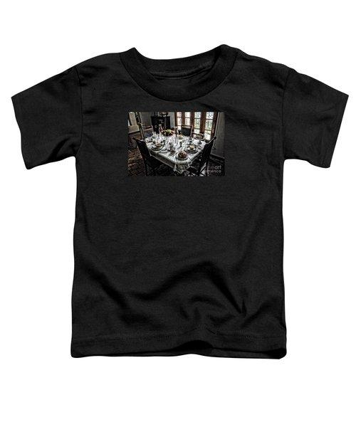 Downton Abbey Breakfast Toddler T-Shirt