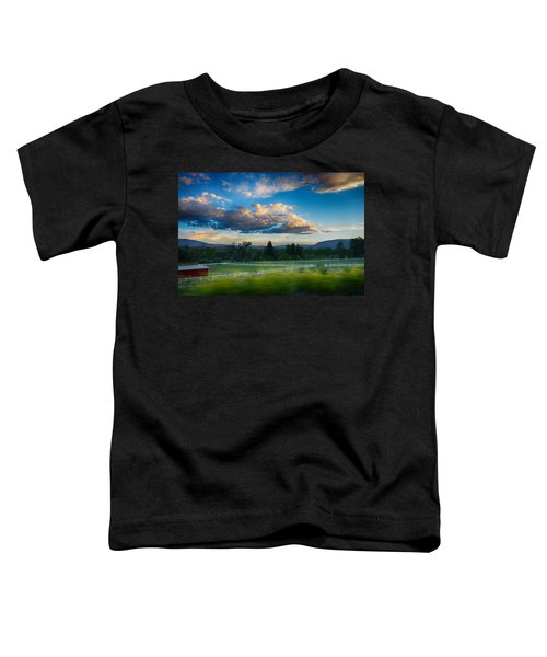 Breathtaking Colorado Sunset 1 Toddler T-Shirt