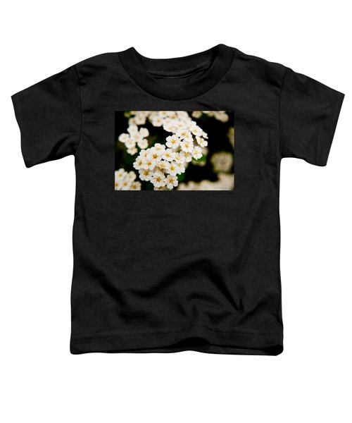 Bridal Veil Spirea Toddler T-Shirt