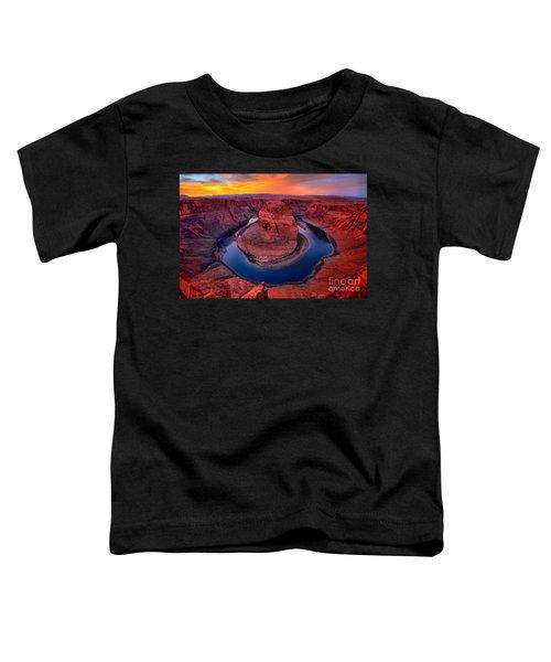 Bright Skies Over Horseshoe Toddler T-Shirt