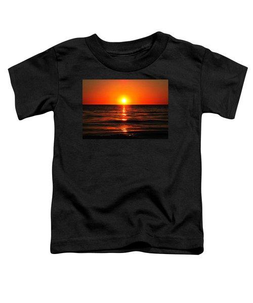 Bright Skies - Sunset Art By Sharon Cummings Toddler T-Shirt