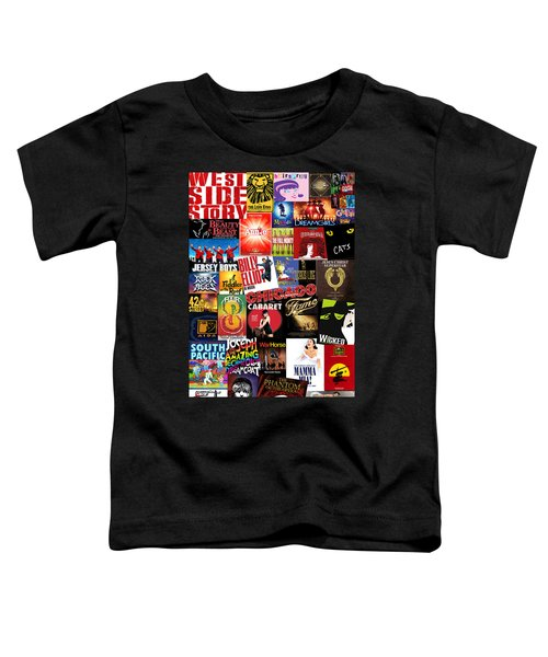 Broadway 4 Toddler T-Shirt