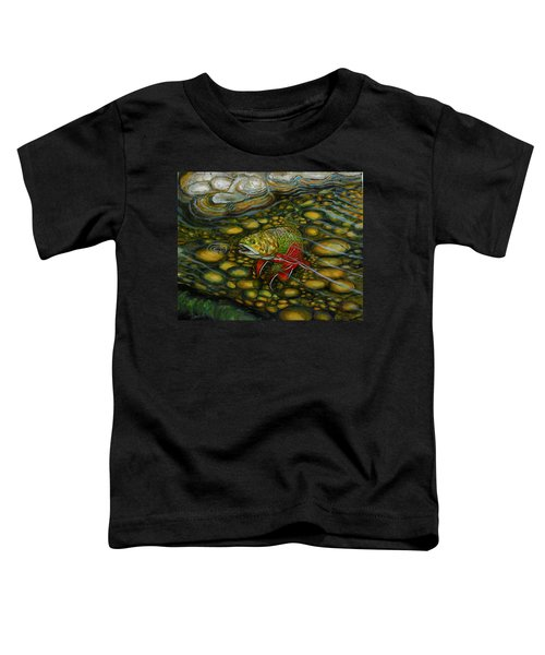 Brook Trout Toddler T-Shirt