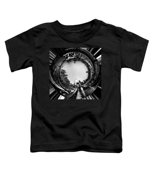 Brooklyn Bridge Circagraph 4 Toddler T-Shirt