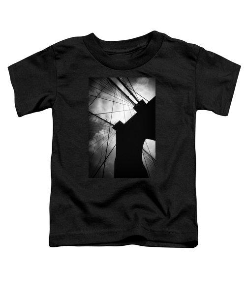Brooklyn Bridge Silhouette Toddler T-Shirt