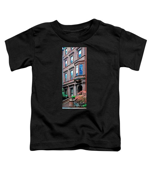 Brooklyn Heights - Nyc - Classic Building And Bike Toddler T-Shirt