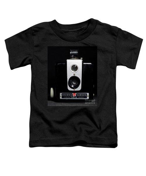 Brownie Hawkeye Flash Camera Toddler T-Shirt