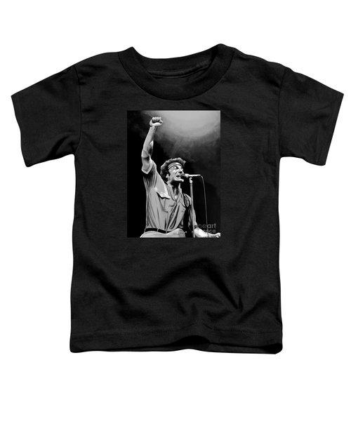 Bruce Springsteen Toddler T-Shirt by Meijering Manupix