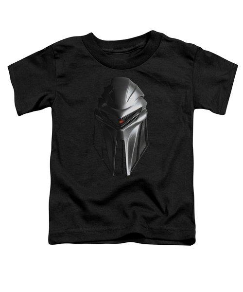 Bsg - Cylon Head Toddler T-Shirt